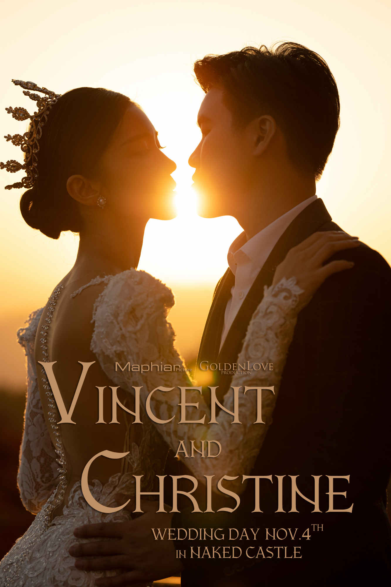 VINCENT & CHRISTINE · 裸心堡婚礼
