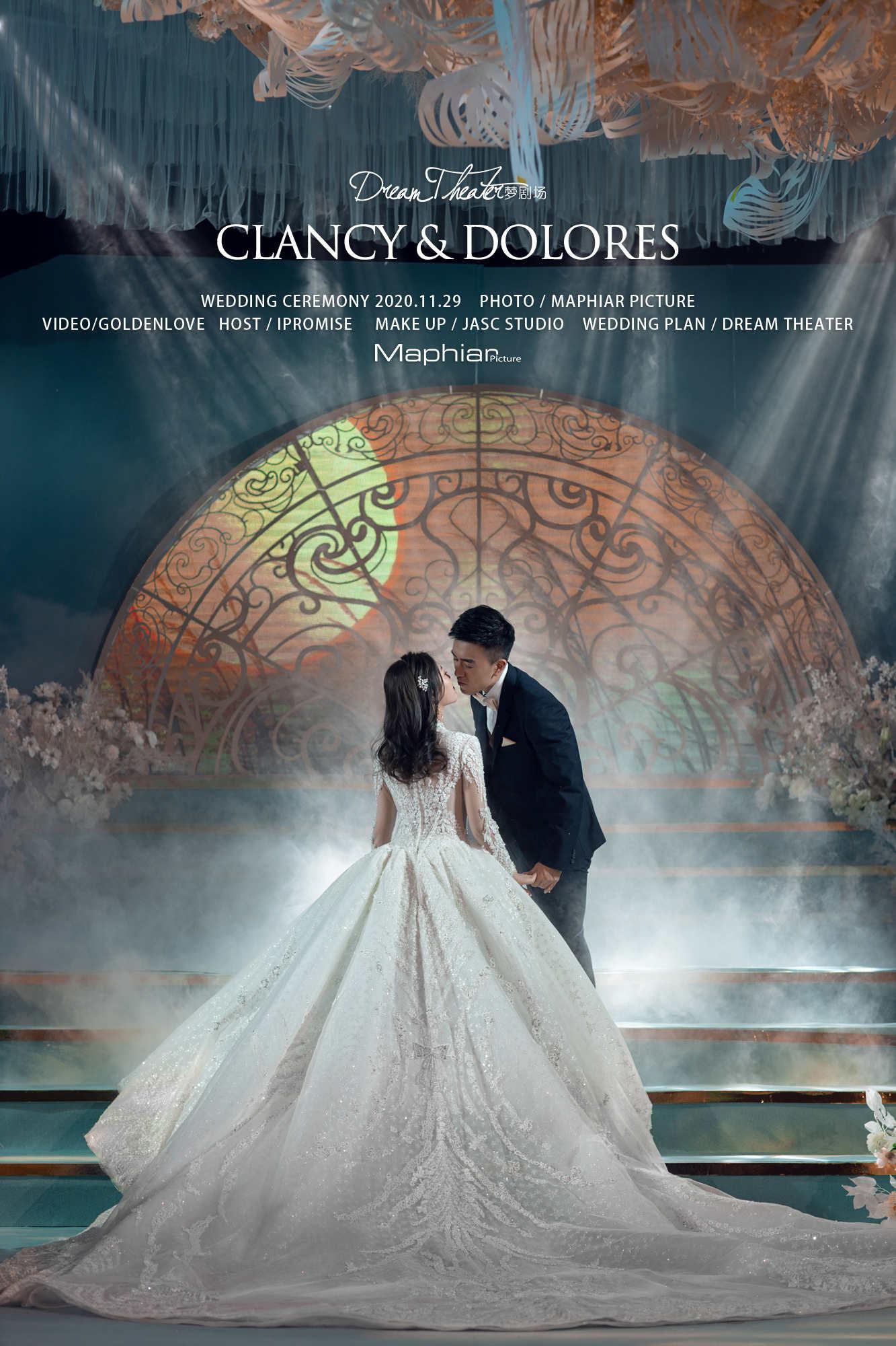 CLANCY & DOLORES · 广州婚礼